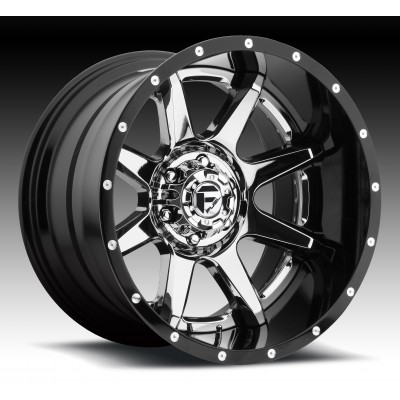 Roue FUEL Rampage D237, chrome (20X10, 8x170, 125.2, déport -19)