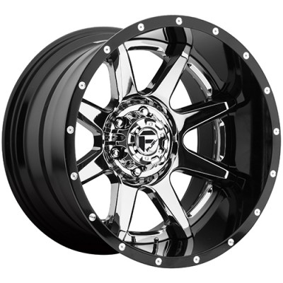 Roue FUEL Rampage D247, chrome (20X10, 8x165.1, 125.2, déport -19)