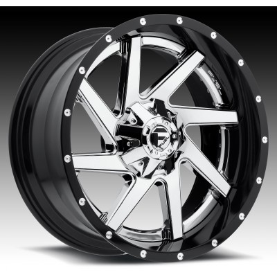 Roue FUEL Renegade D263, chrome (22X10, 8x165.1, 125.2, déport 6)