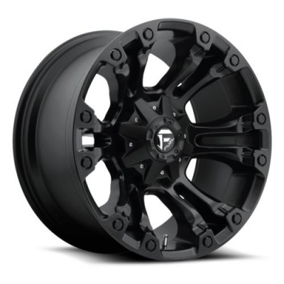 Roue FUEL Vapor D560, noir mat machine (18X8, 6x114.3/139.7, 78.1, déport 35)