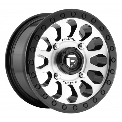 Roue FUEL Vector UTV D580, noir machine (14X7, 4x115, 79.4, déport 38)