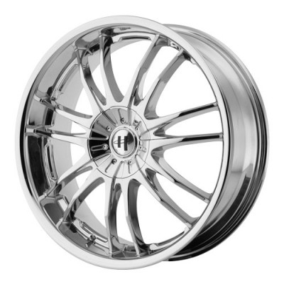 roue Helo Wheels HE845, chrome (17X7.5, 5x100/110, 72.6, déport 42)