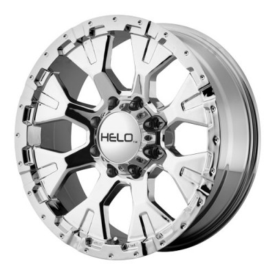 roue Helo Wheels HE878, chrome (16X9, 8x165.1, 125.5, déport -12)