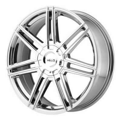 roue Helo Wheels HE884, chrome vaporise (20X8, 5x110/114.3, 72.6, déport 45)