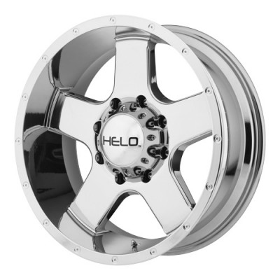 roue Helo Wheels HE886, chrome vaporise (17X9, 8x165.1, 125.5, déport -12)
