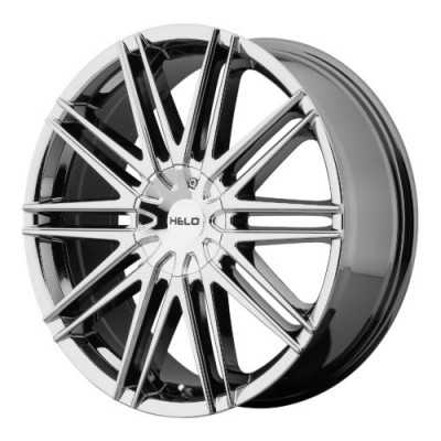Roue Helo HE880, chrome (17X7.5, , 72.60, déport 21)