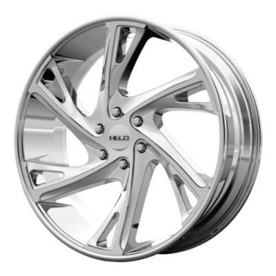 roue Helo Wheels HE903, chrome plaque (18X8.5, 6x139.7, 100.5, déport 35)