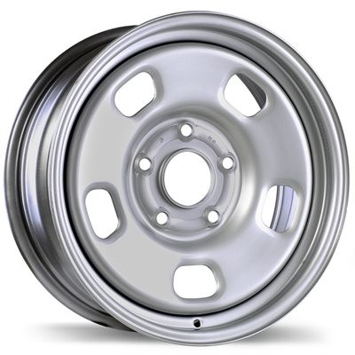 roue Fast Wheels Premium Euro Steel Wheel, argent (17X7.0, 5x139.7, 77.8, déport 25)