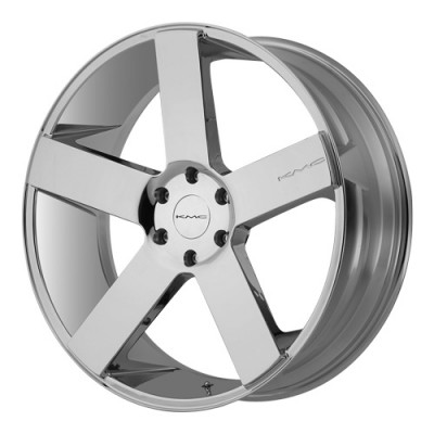 roue KMC Wheels MC 5, chrome (26X9.5, 5x150, 110.5, déport 30)