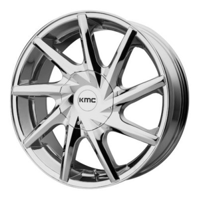 Roue KMC KM705 BURST, chrome (20X8.5, 6x135/139.7, 100.50, déport 35)