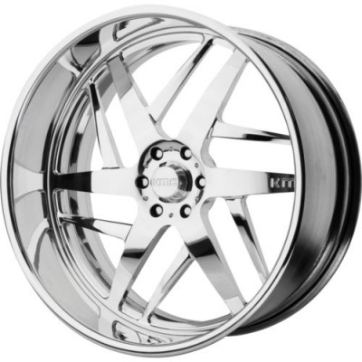 Roue KMC Wheels KM400, chrome (18X8, , 72.6, déport 0)