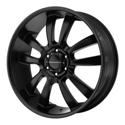 roue KMC Wheels KM673 SKITCH, noir satine (20X8.5, 6x120, 66.9, déport 15)
