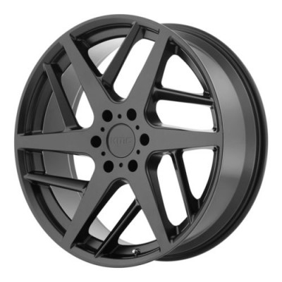 roue KMC Wheels KM699 TWO FACE, noir satine (22X9, 5x127, 72.6, déport 35)