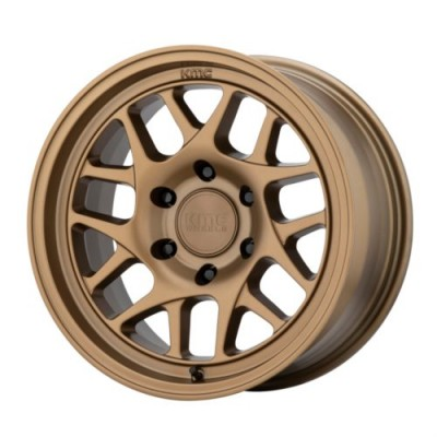 Roue KMC Wheels KM717, bronze mat (17X8.5, 6x120, 66.9, déport 18)