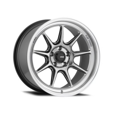 Roue Konig Countergram, chrome (15X7.5, 4x100, 73.1, déport 35)
