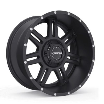 Roue KranK Off-road Force, noir satine (18X9.0, 6x135/139.7, 108, déport 18)