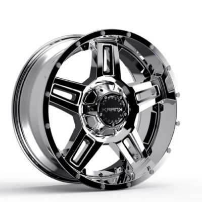 Roue KranK Off-road Hammer, chrome (18X9.0, 8x165.1, 130, déport 18)