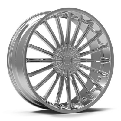 Roue KRONIK KUSH, chrome (22X8.5, 5x108/114.3, 73.1, déport 40)