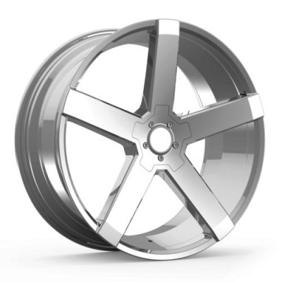 roue KRONIK PHENOM, chrome (20X8.5, 5x114.3, 73.1, déport 38)