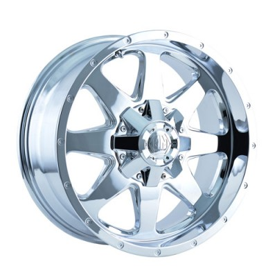 Roue Mayhem 8040 Tank, chrome (17X9, 5x139.7, 108, déport 18)