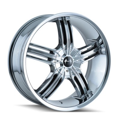 Roue Mazzi GALAXY, chrome (18X7.5, 4x100/114.3, 67.1, déport 40)