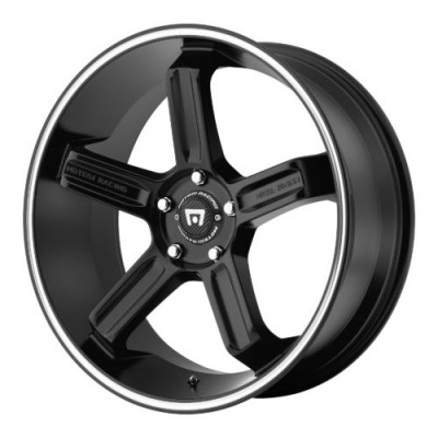 Roue Motegi MR122, noir machine (20X9.5, , 72.60, déport 24)
