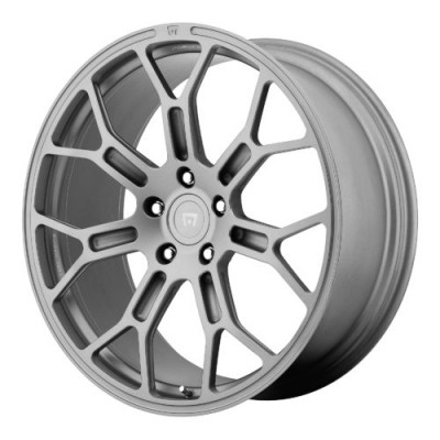 Roue Motegi MR130 TECHNO MESH, gris anthracite (22X11, 5x130, 71.60, déport 63)