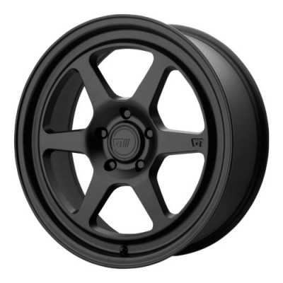 Roue Motegi MR136, noir satine (18X8.5, 5x100, 72.60, déport 45)