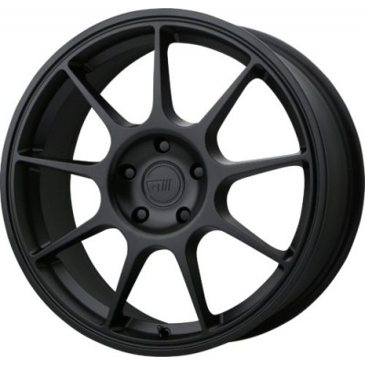 Roue Motegi MR138, noir satine (18X9, 5x100, 72.60, déport 45)