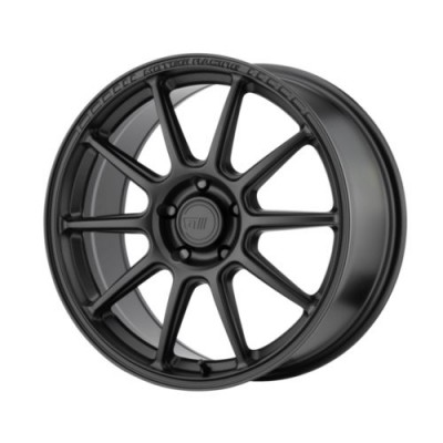 Roue Motegi MR140, noir satine (18X8.5, 5x100, 72.6, déport 45)
