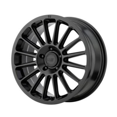 Roue Motegi MR141, noir satine (16X7.5, 5x100, 72.6, déport 40)