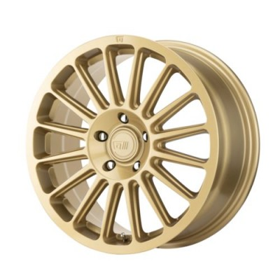 Roue Motegi MR141, or (16X7.5, 5x114.3, 72.6, déport 40)