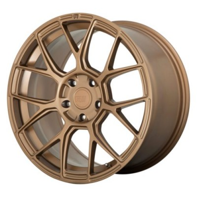 Roue Motegi MR147 CM7, bronze mat (17X8, 5x114.30, 72.6, déport 38)