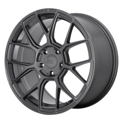 Roue Motegi MR147 CM7, gris gunmetal (17X8, 5x114.30, 72.6, déport 38)