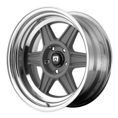 Roue Motegi MR224, gris machine (16X5.5, , 72.60, déport 0)