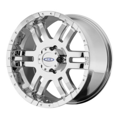 roue Moto Metal MO951, chrome plaque (20X10, 6x139.7, 108, déport -18)