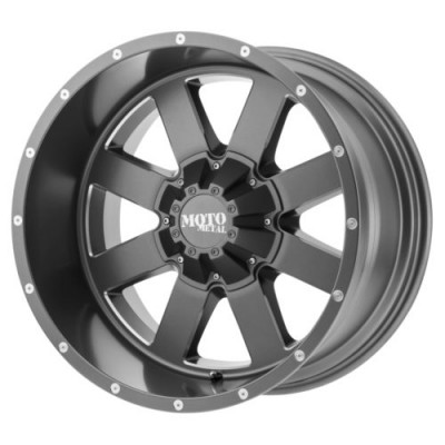 Roue Moto Metal MO962, gris machine (22X14, , 78.30, déport -76)