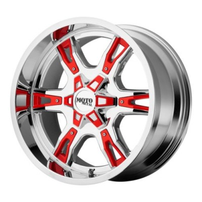 Roue Moto Metal MO969, chrome (18X9, 5x114.3, 74.1, déport 0)