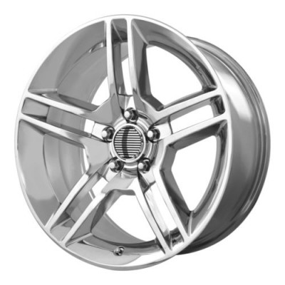 Roue OE Creations PR101, chrome (18X10, 5x114.3, 70.60, déport 24)