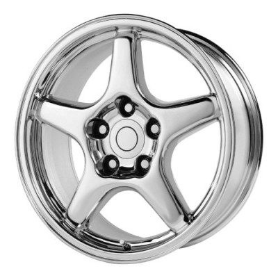 Roue OE Creations PR103, chrome (17X9.5, 5x120.65, 70.70, déport 56)