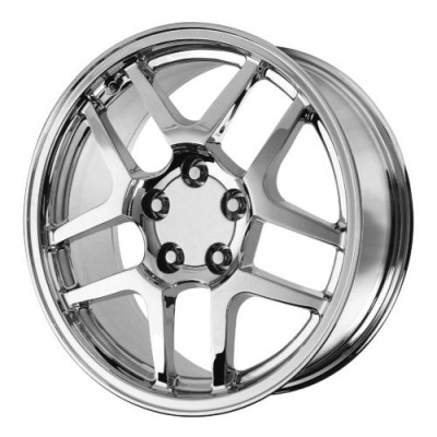 Roue OE Creations PR105, chrome (17X9.5, 5x120.65, 70.70, déport 54)