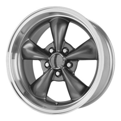 Roue OE Creations PR106, gris fonce machine (17X10.5, 5x114.3, 70.60, déport 27)