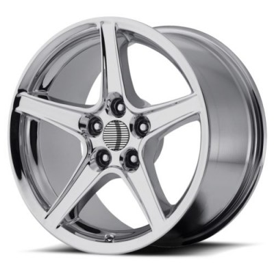 Roue OE Creations PR110, chrome (18X10, 5x114.3, 70.60, déport 24)
