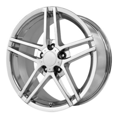 Roue OE Creations PR117, chrome (17X8.5, 5x120.65, 70.70, déport 49)