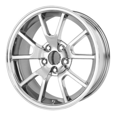 Roue OE Creations PR118, chrome (18X9, 5x114.3, 70.70, déport 30)