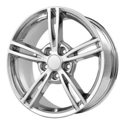 Roue OE Creations PR120, chrome (18X9.5, 5x120.65, 70.70, déport 56)