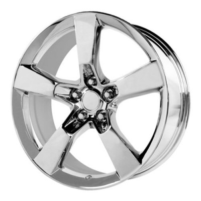 Roue OE Creations PR124, chrome (20X8, 5x120, 67.00, déport 35)