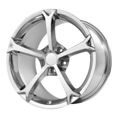 Roue OE Creations PR130, chrome (18X8.5, 5x120.65, 70.30, déport 56)