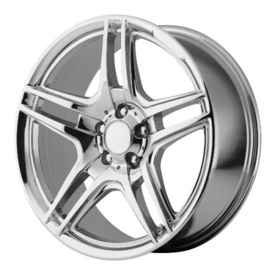 Roue OE Creations PR136, chrome (16X7.5, 5x112, 66.60, déport 35)