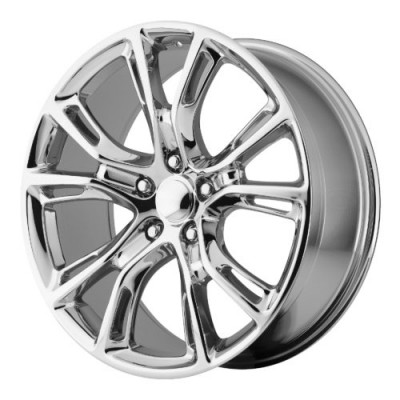 Roue OE Creations PR137, chrome (20X10, 5x127, 71.50, déport 50)